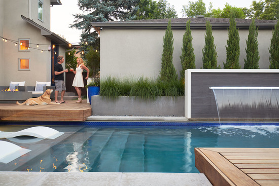 A Chic Denver Pool
