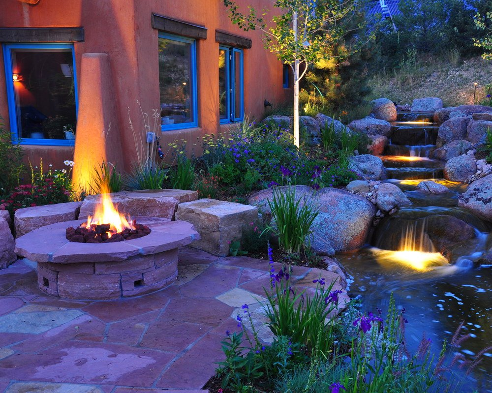 water features in colorado landscaping - Garden Ideas Colorado