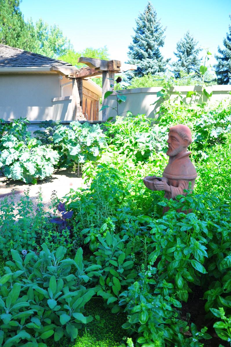 Residential Landscape Design Construction Portfolio - veg garden design colorado