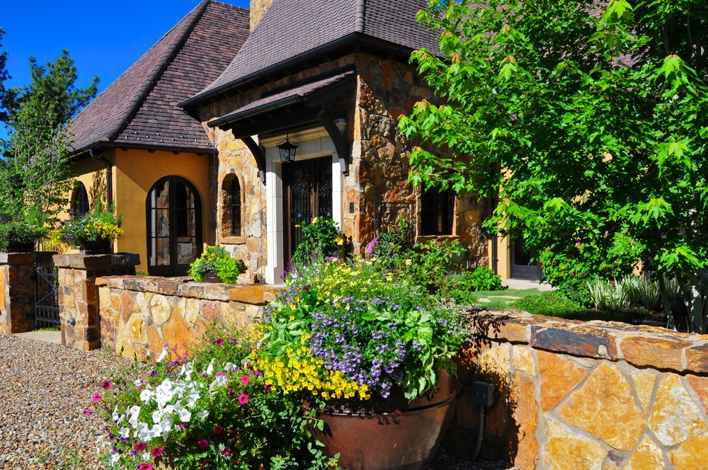 Green Landscape Design For Denver