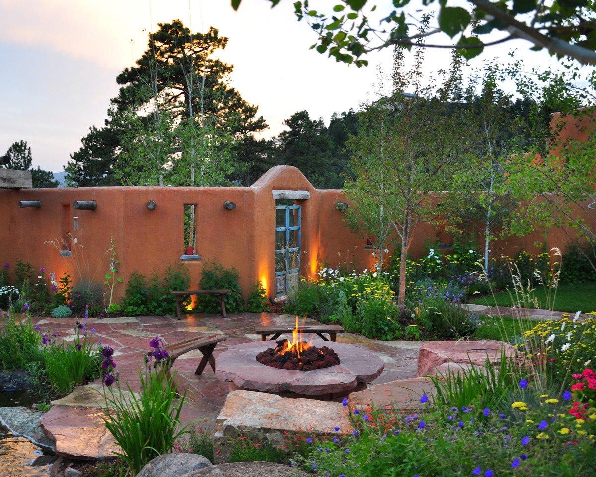 Greenbuilt Adobe in the Mountains on Southwest Backyard Ideas id=81942